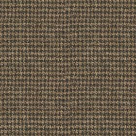 Harris Tweed - Wolf Tooth Atlantic Crag Grey - 100% wool fabric woven with a very small houndstooth design in slate grey and dark brown-grey