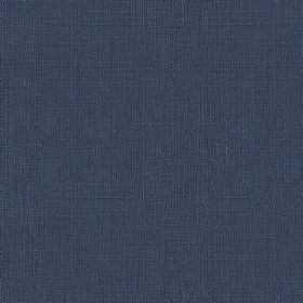 Blakeney Plain - Navy - Classic navy blue coloured fabric made from versatile 100% cotton