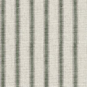 Colthurst Stripe - Bottle Green - Fabric made from viscose and linen in three shades of light grey, woven with a subtly streaked vertical st