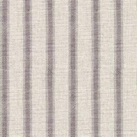 Colthurst Stripe - Heather - Subtly streaked vertical stripes woven in pale grey, ash grey and purple-grey, into fabric made from viscose an