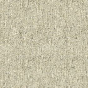 Elgar Wool Plain - Clay - Tiny steel grey coloured speckles scattered over a bright white 100% wool fabric background