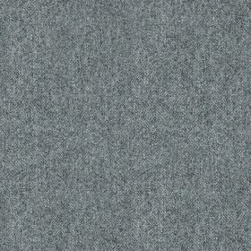 Elgar Wool Plain - Cobalt - Fabric made from 100% wool with a speckled effect made in two different shades of grey-blue