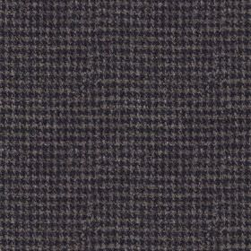 Harris Tweed Houndstooth - Ocean Spray - Midnight blue and gunmetal grey coloured 100% wool fabric, woven with a tiny, very simple checkerbo