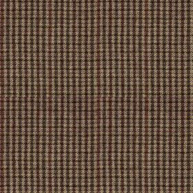 Ilkley - Purple - 100% wool fabric made in light grey, woven with a small, simple grid design in dark charcoal and blood red colours