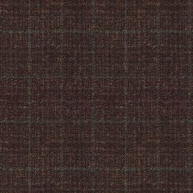 Harris Tweed - Stag Check Grouse Moor Bracken - A very subtle dark grey coloured grid woven into charcoal coloured fabric made entirely from