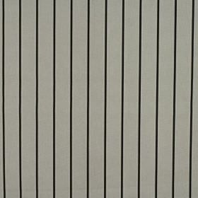 Layla - Slate - Black and mid-grey coloured 100% cotton fabric with a simple, regular vertical pinstripe design