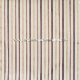 Ndee - Latte - Narrow grey and brown stripes