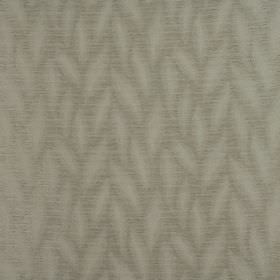Rocco - Pearl - A subtle simple stylised leaf pattern on 100% polyester fabric inshades of green-grey