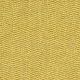 Howie - Buttercup - Fabric made from 100% polyester featuring a traditional herringbone weave in a warm golden yellow colour