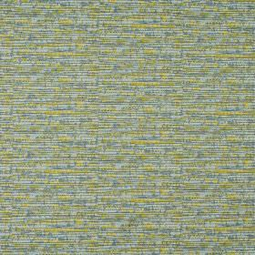 Blake - Apple - 100% cotton fabric dashed with lime green, clear blue and dusky blue-grey