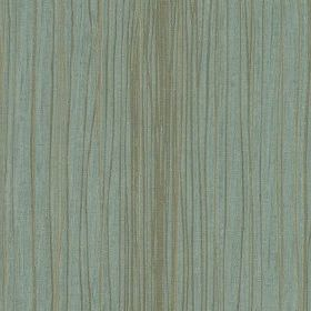 Mimi - Duckegg - Light shades of blue and grey making up a thin, unevenly spaced vertical line design on fabric made from 100% polyester