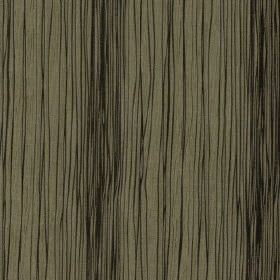 Mimi - Ebony - 100% polyester fabric made in black and cement grey, featuring an uneven pattern of thin vertical lines