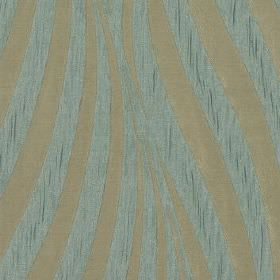 Tulie - Duckegg - Fabric made from 100% polyester, featuring large, elegant curving lines in light grey and slightly speckled duck egg blue