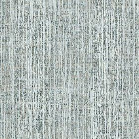 Letty - Azure - Pale blue and navy blue coloured streaks running vertically down polyester and cotton blend fabric