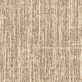 Letty - Gold - Polyester and cotton blend fabric made in dark brown and cream colours, featuring a stylish pattern of vertical streaks
