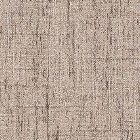 Letty - Linen - A few dark grey-brown coloured streaks running vertically and horizontally over cement grey polyester and cotton fabric