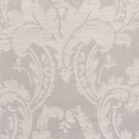 Dover - Pebble - Fabric with grey fabric with bold floral swirls
