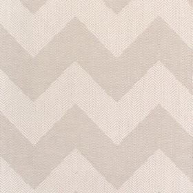 Seaford - Stone - Fabric with shades of grey bold zg-zags