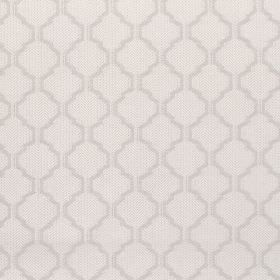 Coastal - Pebble - Fabric with grey background and darker diamond-shape pattern