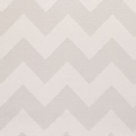 Seaford - Pebble - Fabric with shades of grey bold zig-zags