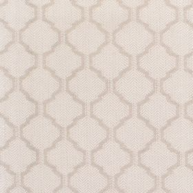Coastal - Stone - Fabric with lght grey background and darker diamond-shape pattern