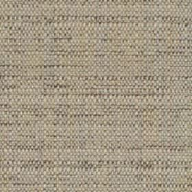 Raffia - Shell - A few charcoal coloured threads woven into light grey polyester and viscose blend fabric