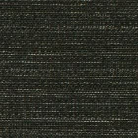 Raffia - Slate - Black polyester and viscose blend fabric woven with a few very subtle white threads