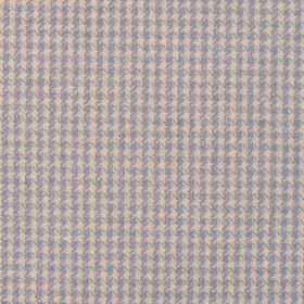 Reid - Sky - Fabric in shades of blue with criss-cross stripes
