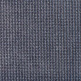 Reid - Denim - Fabric in shades of blue forming dot squares