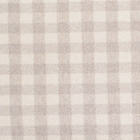 Peyton - Dove - Fabric with shades of grey with criss-cross stripes