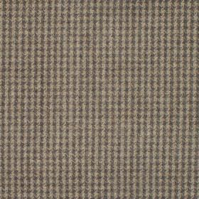 Reid - Bark - Fabric in shades of dark brown forming dot squares