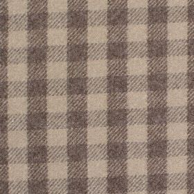 Peyton - Praline - Fabric with shades of light beige with criss-cross stripes