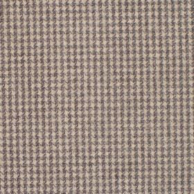 Reid - Praline - Fabric in shades of beige with dot squares