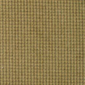 Reid - Dijon - Fabric in shades of yellow forming dot squares