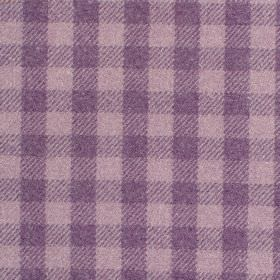 Peyton - Heather - Fabric with shades of mauve with criss-cross stripes