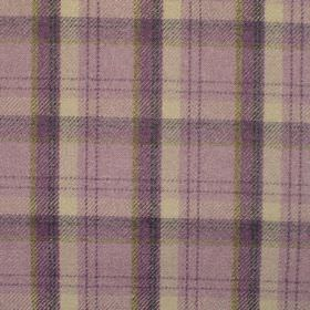 Edderton - Heather - Fabric with shades of mauve plaid