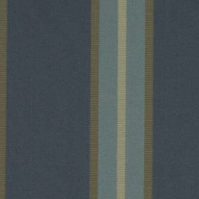 Hardy - Wedgewood - 100% polyester fabric made with a vertical stripe design in denim blue, dusky blue, chrome-grey and cloud grey