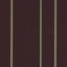Mira - Mulberry - Fabric made from 100% polyester in a very dark shade of purple, black, grey and duck egg blue, with thin vertical stripes