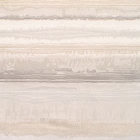Kayli - Dove - Cotton fabric with dove grey background with light grey and white horizontal stripes