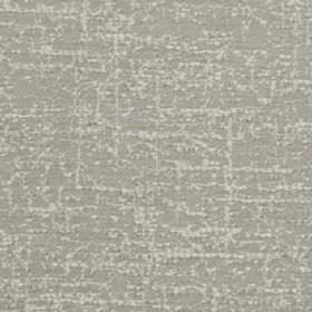 Orion - Silver - Two light shades of grey making up a polyester and cotton blend fabric featuring a subtle, random streaking design