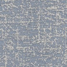 Orion - Sky - White streaks woven randomly into light, dusky blue coloured polyester and cotton blend fabric