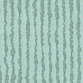 Ridge - Duck Egg - Powder blue coloured polyester and cotton fabric featuring subtly striped, uneven, wiggly vertical lines in darker blue