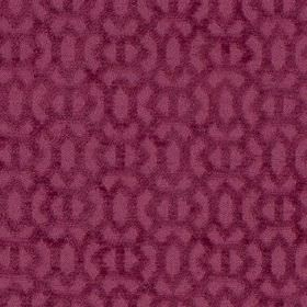Heeley - Pink - Two shades of light, dusky purple coloured 100% polyester fabric, made with a simple textured geometric design