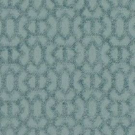 Heeley - Sky - Fabric made from 100% polyester featuring a simple, textured geometric design in a classic duck egg blue colour