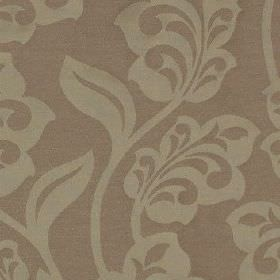 Lebala - Blush - Pretty, stylised leaves made in two different light shades of grey on fabric made from 100% polyester