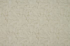 Kensington - Nougat - Floral patterned fabric containing cotton and polyester with a very subtle design in beige and light grey