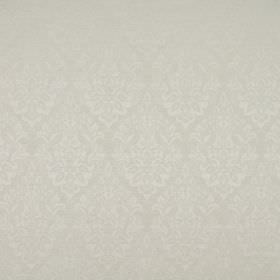 Luddington - Ivory - Very subtly patterned ivory coloured fabric containing polyester, cotton and viscose