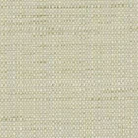 Raffia - Opal - Polyester and viscose blend fabric woven using threads in white and a very pale shade of creamy grey