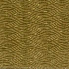 Carrie - Lime - Lime green waves on green fabric