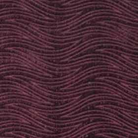 Carrie - Berry - Berry purple waves on purple fabric